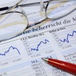 Zeitungsausschnitt Krise Börse