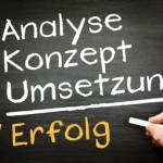 Analyse Konzept Erfolg